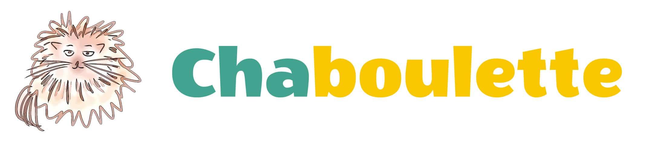 Chaboulette le logo entier du site Chaboulette livres pour enfants et jeunesse