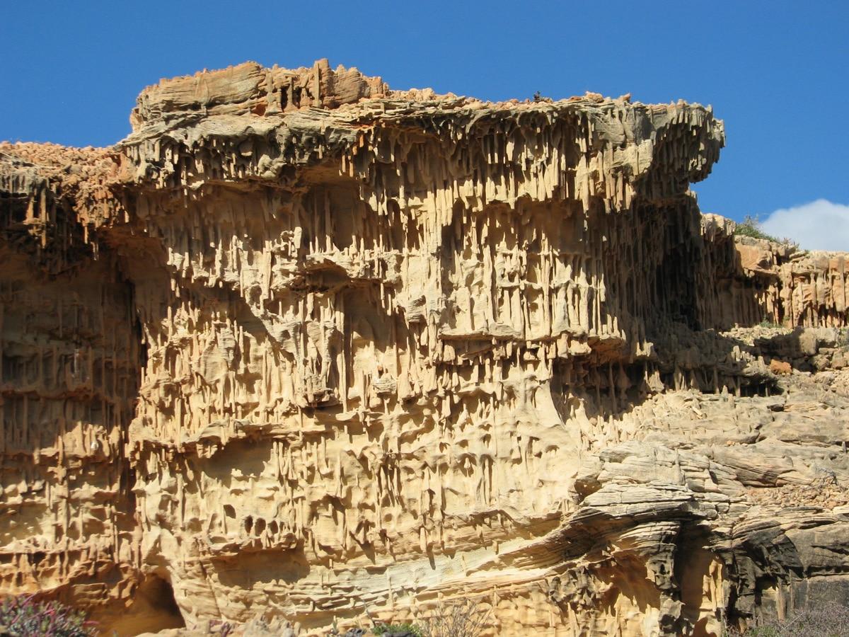Photo de rochers lors d'un voyage en Australie pour le livre Chasseurs de pierres en Australie