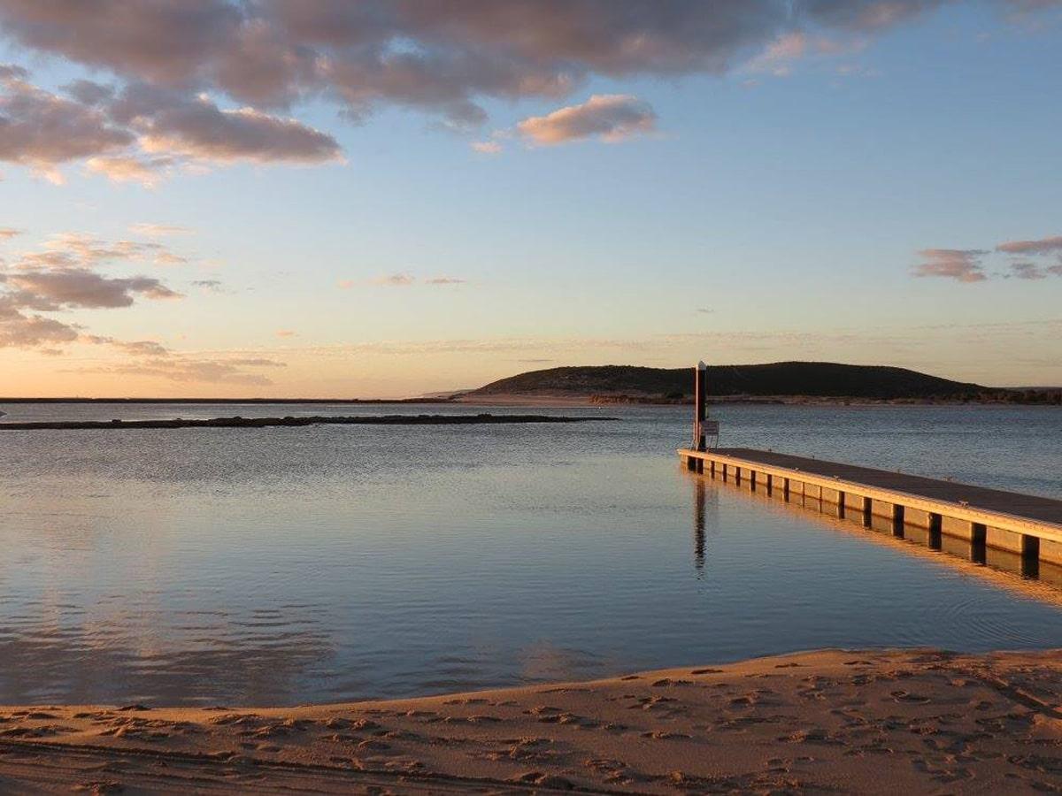 Photo d'un paysage lors d'un voyage en Australie pour le livre Chasseurs de pierres en Australie